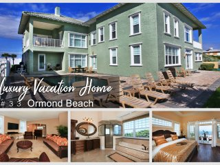 Oct & Nov Specials-Luxury Vacation Home-Oceanfront-Heated Pool - 8BR/8.5BA -#33