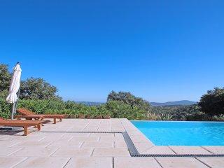Villa contemporaine - Vue met et collines - 6 pers - Grimaud