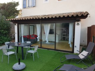 Appartement 3 pieces en rez de jardin