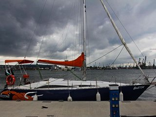 Beautiful Sailing boat in Varna
