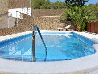 Villa Sitges Arhat con piscina privada, 2 terrazas en una zona tranquila