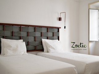 ZOETIC sustainable rooms . conscious