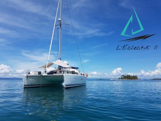 The best catamaran to explore San Blas Islands, our Lagoon 410 is ready for you.