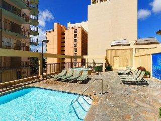 Aston Waikiki Beach Tower - Two Bedroom Deluxe Oceanfront Suite - AHR