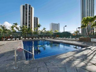 Aston Waikiki Sunset - One Bedroom Deluxe Mountain View Suite - AHR