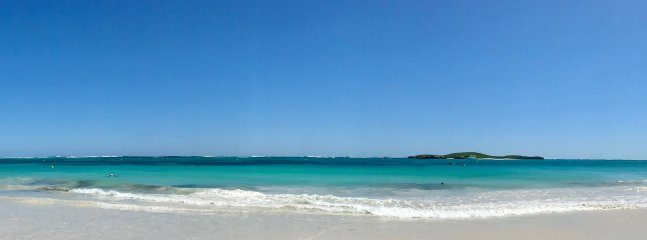 Beautiful Lancelin Bay, at the end of the street.