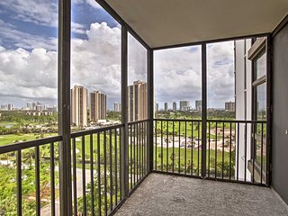 New! 2BR Aventura Condo w/ Stunning Views & Pool!
