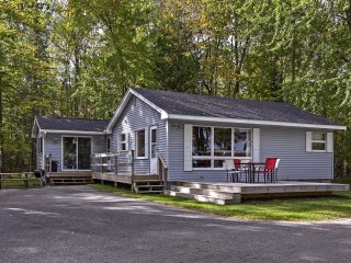 NEW! Alanson Cottage - Steps to Dock on Burt Lake!