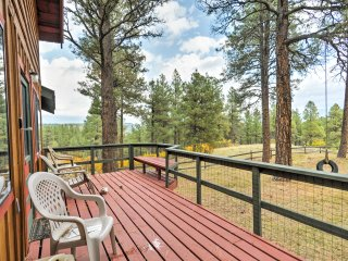 Pagosa Springs Cabin w/ Deck, Yard & Mtn Views!