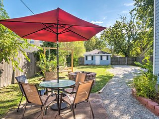 Louisville Home w/Fire Pit-Min to Churchill Downs
