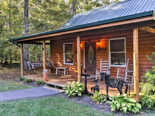 NEW! Smoky Mountain Escape with Furnished Patio!