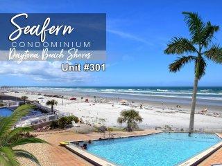 September Specials! Seafern Condominium - Oceanfront - 2BR/2BA - #301