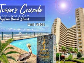 Towers Grande Condominium - Oceanfront Unit 3BR/3BA - #403