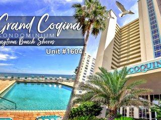 Grand Coquina Condominium - Direct Oceanfront Unit - 3BR/3BA - #1604