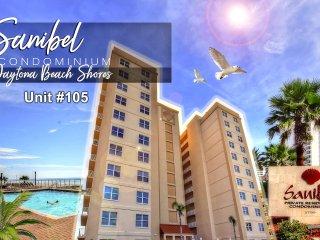 Sanibel Condominium - Oceanfront Unit - 3BR/3BA - #105