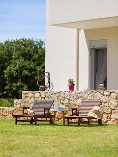 Outdoors - sun beds