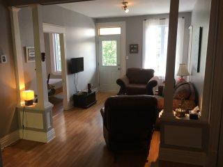 Vaste appartement ensoleillé au cœur de Québec