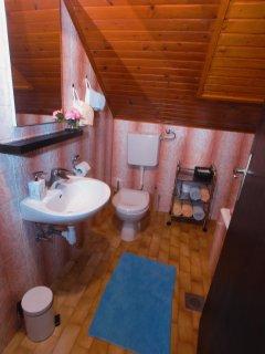 Bathroom with a tub/shower