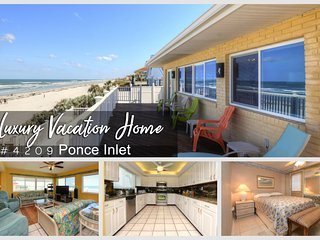 Oct & Nov Specials - Luxury Home - Direct Oceanfront - 4BR/3BA - #4209