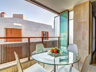 Moderno y amplio apt. gran terraza- muy centrico!