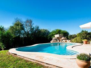 Villa 98 in Manacor villa with private pool and wi