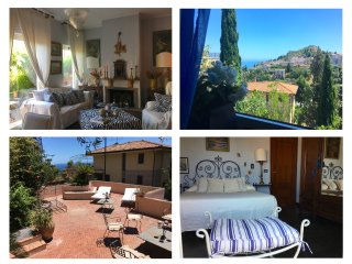 CASA DORA With Terrace, Garden,Free Parking and Sea View