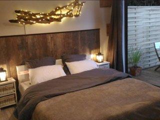Cabane chic & romantique pour couple proche du Mans