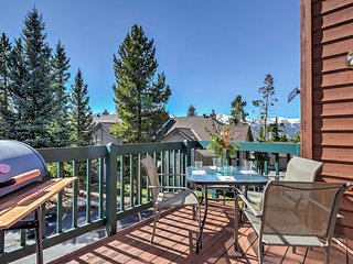 Glorious 4BR Breckenridge Townhome w/Private Patio