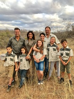 Our families have had long generational ties with this area and the South African safari industry.