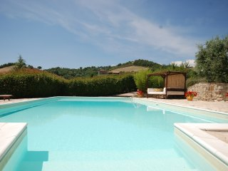 Casale Rose Garden is situated only 8 km from the centre of Todi,  large pool