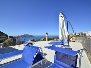 LA TERRAZZA SUI DUE GOLFI Marvellous house with sea view and private terrace