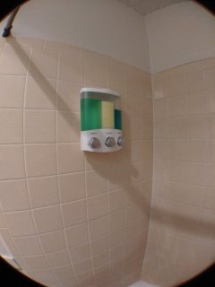 There's a dispenser in the shower with shampoo, conditioner and body wash, if you wish to use ours.