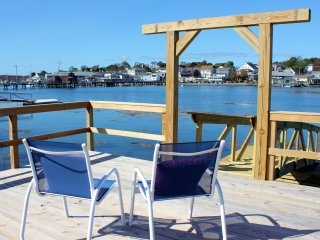 Waterfront Home at Head of Boothbay Harbor, Walk to Footbridge and Attractions