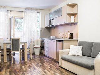 Souterrain Studio Apartment 1 with Balcony