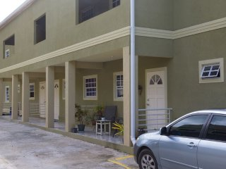 Front view of condominiums