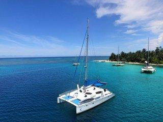 Catamarán Pura Vida en San Blas