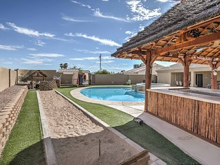 Custom Lake Havasu City Home w/Pool, Spa & Cabana!