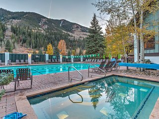NEW! Cozy 1BR Vail Condo On Gore Creek w/ Views!