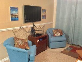 Beach Condo 3BR-2BA $95/night spec., Dbl Balcony,W/D'n unit, Wifi,7th nt free