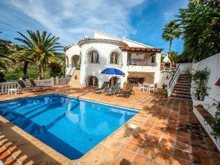 San Jaime-19M - sea view villa with private pool in Moraira