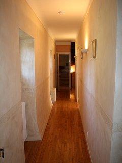 The first floor corridor