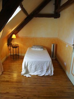 The twin bedroom on the second floor