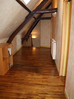 The top floor corridor