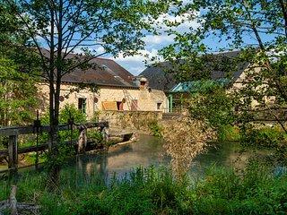 Ancien Moulin - Gîte de grande capacité en Ardennes
