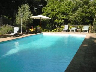 House with one bedroom in Mensano, with pool access, furnished terrace and WiFi