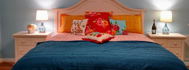 Bedding is often lined dried to offer that fresh mountain air scent.