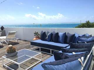 lounge on the deck and enjoy the view