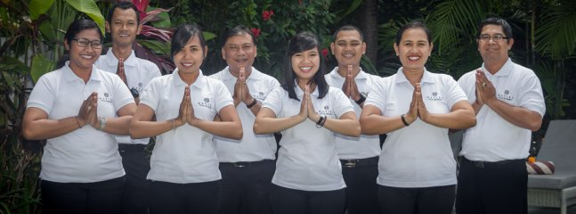 The Management company team of Maviba Villas and Resorts