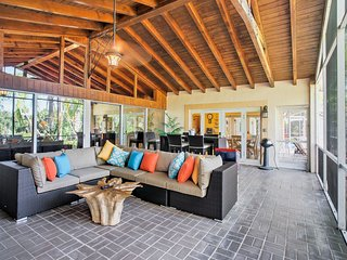 North Fort Myers House on Canal - Pool & Dock!