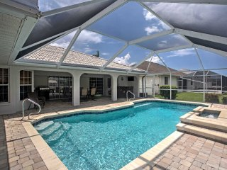 New!Waterfront 3BR Cape Coral Home w/ Private Pool